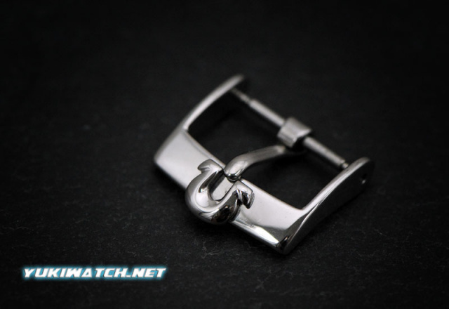 Omega 16mm Stainless Steel Buckle