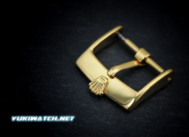 RoIex 16mm Gold Plate Buckle