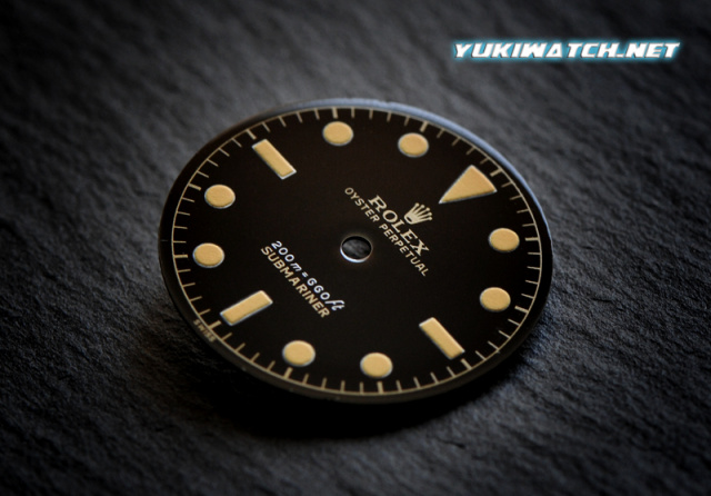 Submariner 6538 gloss 2 line dial